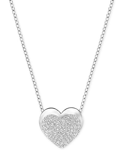Swarovski Pav� Heart Pendant Necklace