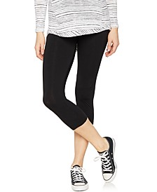 Luxe Ultra Soft Maternity Cropped Leggings
