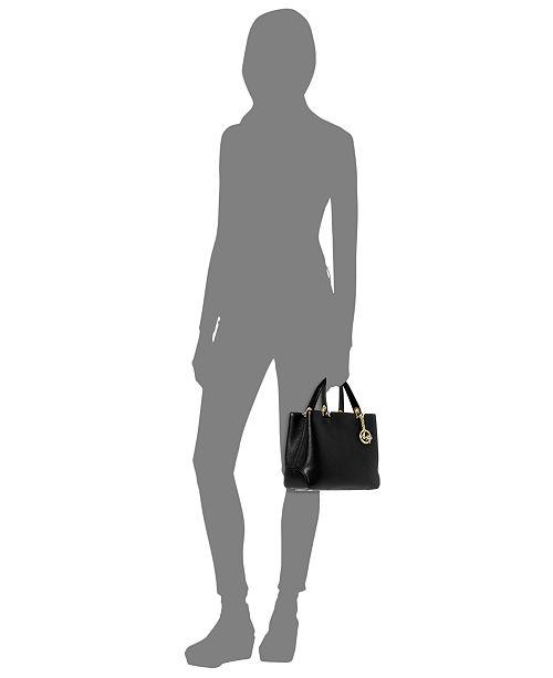 ca8d90a0459c Michael Kors Anabelle Medium Top Zip Tote   Reviews - Handbags ...