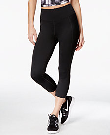 Ideology ID Shape Slimming Rapidry Cropped Leggings, Created for Macy's