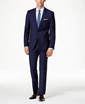 8f9ea187 HUGO Men's Blue Extra Slim-Fit Suit Separates