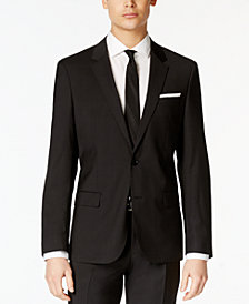 HUGO Men's Black Slim-Fit Jacket