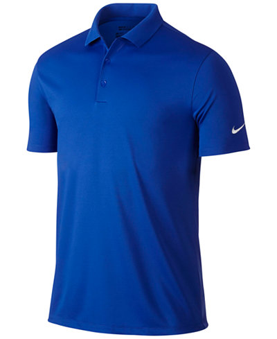 Nike men 39 s victory dri fit golf polo polos men macy 39 s for Nike dri fit victory golf shirts