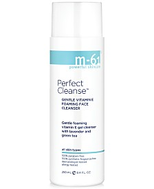 m-61 by Bluemercury Perfect Cleanse Gentle Vitamin E Foaming Face Cleanser, 8.4 oz