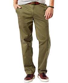 Dockers Men's Stretch Classic Fit Washed Khaki Pants D3