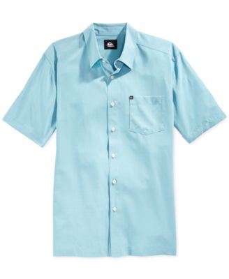 Image of Quiksilver Men's Straight Short-Sleeve Shirt