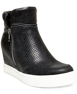 Steve Madden Women's Linqsp Wedge Sneakers - Sneakers - Shoes - Macy's
