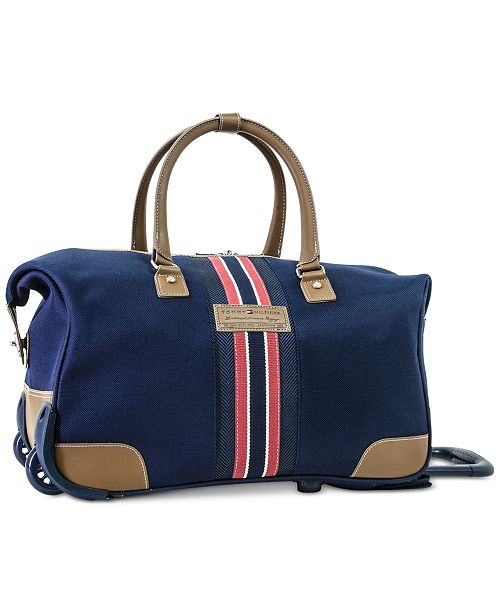 372b44bf0f98b4 Tommy Hilfiger Freeport Rolling City Bag, Created for Macy's ...