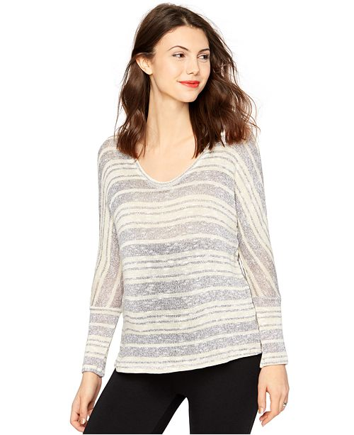 A Pea in the Pod Maternity Striped Top