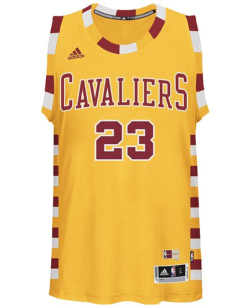 huge selection of e3d49 5e06a adidas LeBron James Cleveland Cavaliers Swingman Hardwood ...