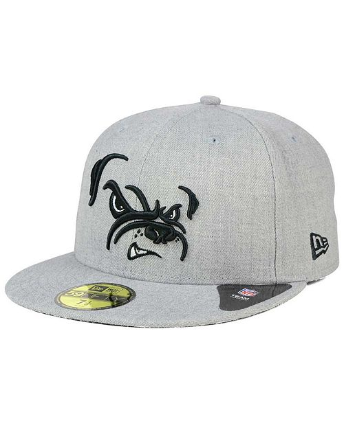 New Era Cleveland Browns Heather Black White 59FIFTY Fitted Cap