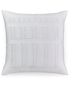 "Hotel Collection Colonnade Blue 20"" Square Decorative Pillow"