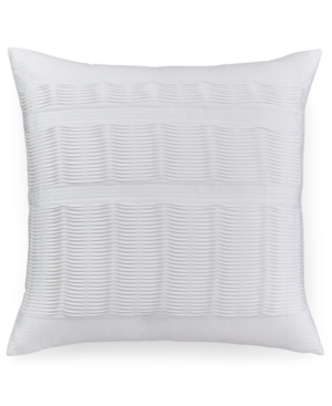 """Hotel Collection Colonnade Blue 20"""" Square Decorative Pillow Bedding"""