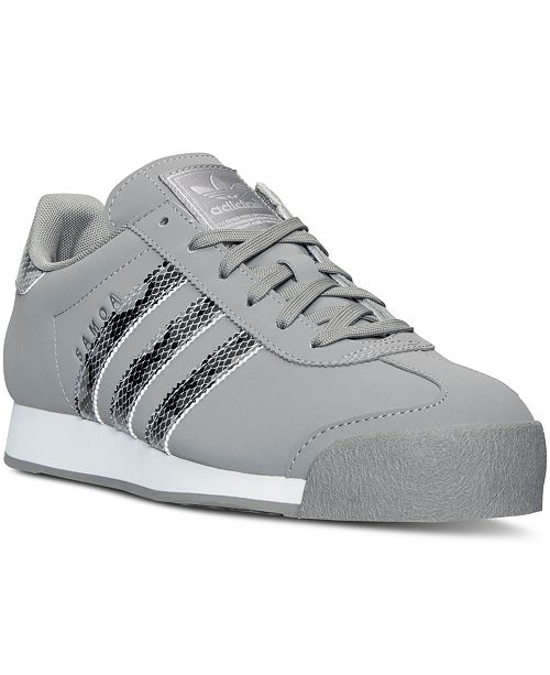 promo code 8034f 1b2af ... adidas Men s Samoa Reptile Casual Sneakers from Finish ...