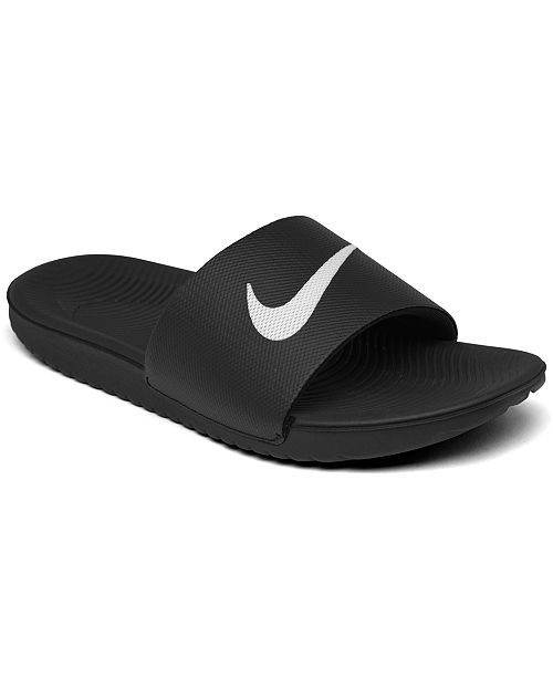 a658e5d0b6b221 Nike Big Boys  Kawa Slide Sandals from Finish Line   Reviews ...