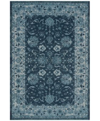 "Mosaic Estate Teal 3'3"" x 5'1"" Area Rug"