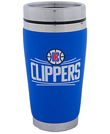 Hunter Manufacturing Los Angeles Clippers 16 oz. Stainless Steel Travel Tumbler