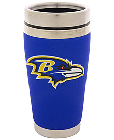 Hunter Manufacturing Baltimore Ravens 16 oz. Stainless Steel Travel Tumbler
