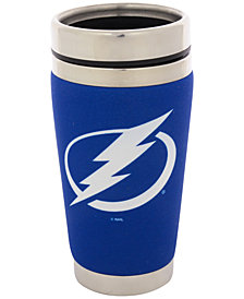 Hunter Manufacturing Tampa Bay Lightning 16 oz. Stainless Steel Travel Tumbler