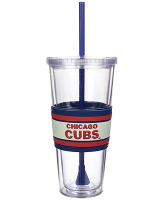 Boelter Brands Chicago Cubs 22 oz. Hyped Straw Tumbler