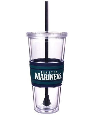 Boelter Brands Seattle Mariners 22 oz. Hyped Straw Tumbler