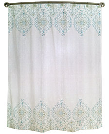 Lenox French Perle Groove Shower Curtain