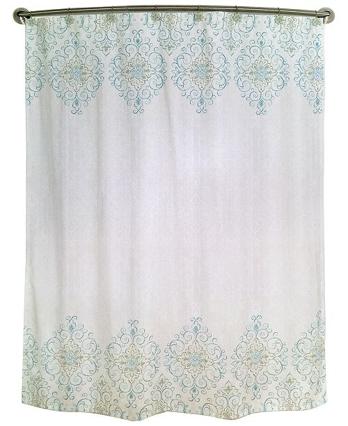 Bardwil Lenox French Perle Groove Shower Curtain