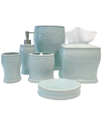 Lenox French Perle Groove Bath Collection Icon