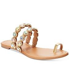 Thalia Sodi Joya Toe-Ring Flat Sandals, Created for Macy's