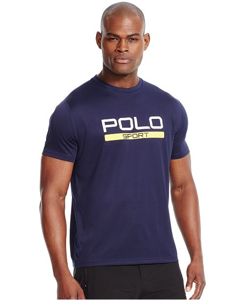 0f61bf1750dd Polo Ralph Lauren Men s Performance Jersey T-Shirt   Reviews - T ...