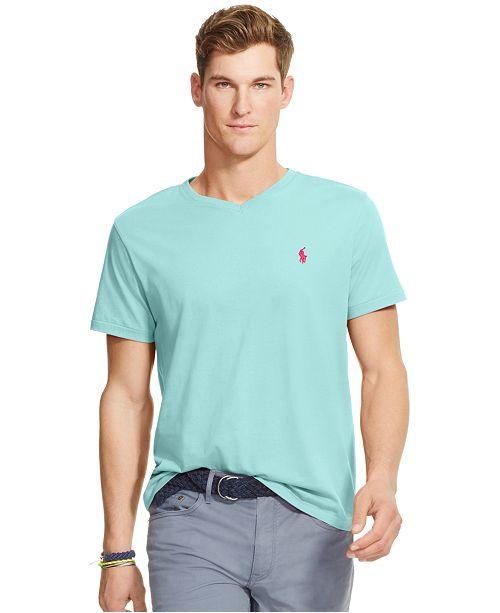 488f4e864d4d Polo Ralph Lauren Men s Jersey V-Neck T-Shirt   Reviews - T-Shirts ...