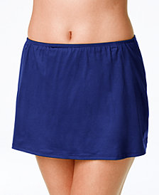 24th & Ocean Swim Skirt with Tummy Control