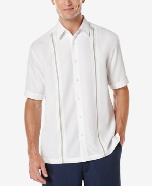 Men's Contrast Stitch Short-Sleeve Shirt