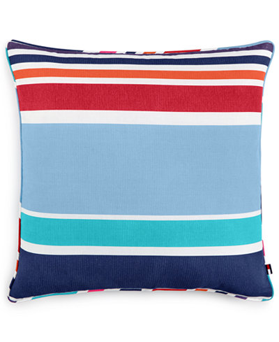 Tommy Hilfiger Decorative Bed Pillows : Tommy Hilfiger Dunmore Stripe 20