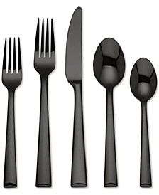 Colebrook Black 5-Pc. Place Setting