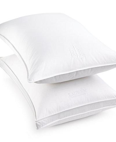 Lauren Ralph White Down Pillow Certified Asthma And Allergy FriendlyTM