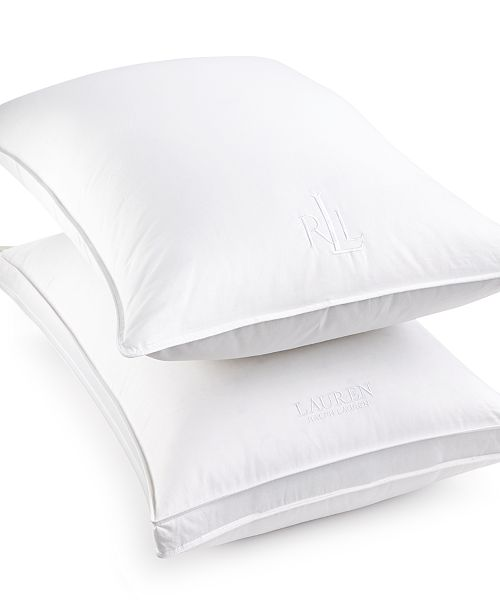 Lauren Ralph Lauren CLOSEOUT! White Down Pillow, Certified Asthma and Allergy Friendly™