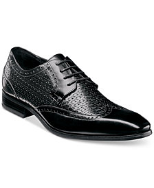Stacy Adams Men's Melville Wingtip Textured Oxfords