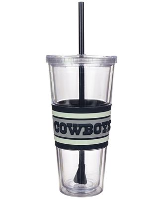 Boelter Brands Dallas Cowboys 22 oz. Hyped Straw Tumbler