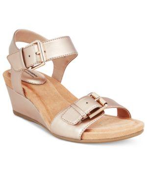 Giani Bernini Bryana Memory Foam Wedge Sandals, Created for Macy