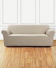 Ultimate Stretch Chenille One-Piece Sofa Slipcover