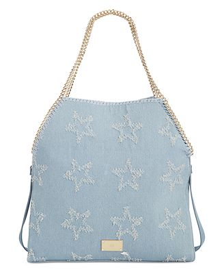 INC Kadi Denim Large Tote