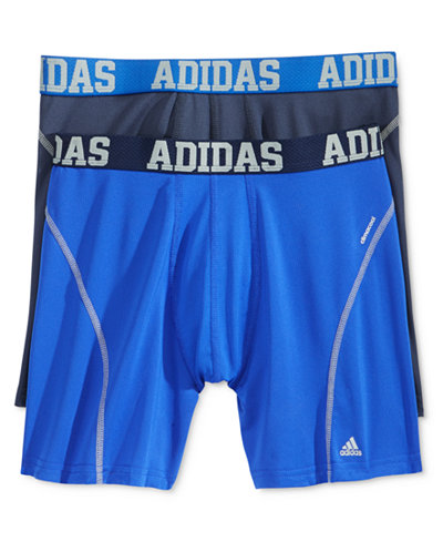 adidas Men's 2 Pack ClimaCool Performance Boxer Briefs