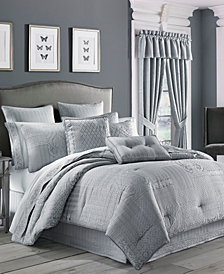 CLOSEOUT! J Queen New York Wilmington Queen 4-Pc. Comforter Set