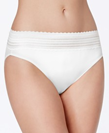 Warner's No Pinching No Problems Lace Hi-Cut Brief Underwear 5109