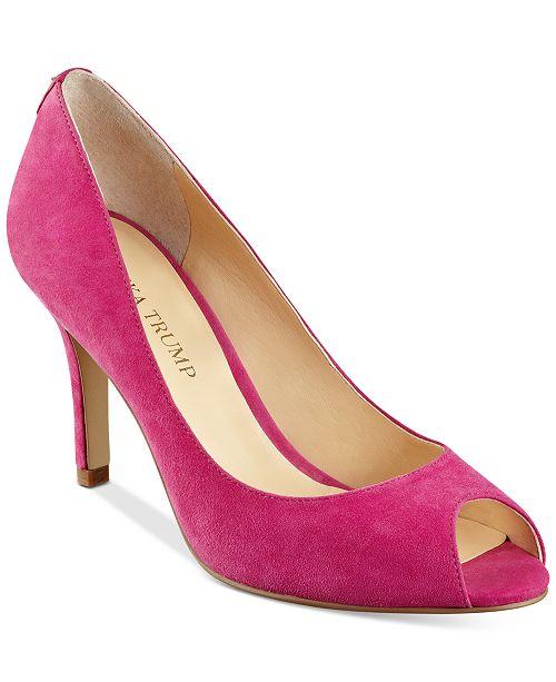ab021bcfc256 Ivanka Trump Cleo Pumps   Reviews - Pumps - Shoes - Macy s