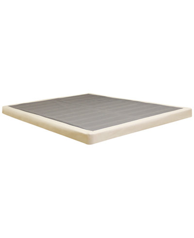 Sleep Trends 4 Inch Low Profile Mattress Instant Foundation Quick Ship Created For