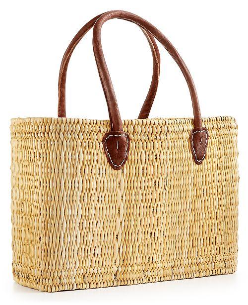 Global Goods Partners Traditional Medium Moroccan Market Bag