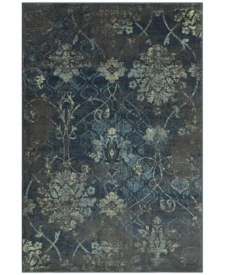 "CLOSEOUT! Menagerie MEN2161 Grey 4'11"" x 7'5"" Area Rug"