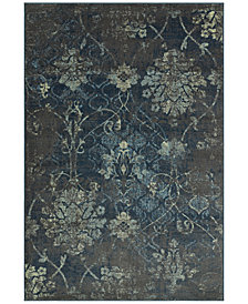 "CLOSEOUT! D Style Menagerie MEN2161 Grey 3'3"" x 5'1"" Area Rug"